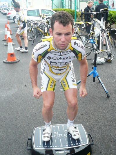 Mark Cavendish anvender Galileo